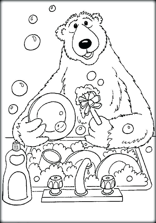 660x943 Bear In The Big Blue House Coloring Pages Colorg S Colorg Bear