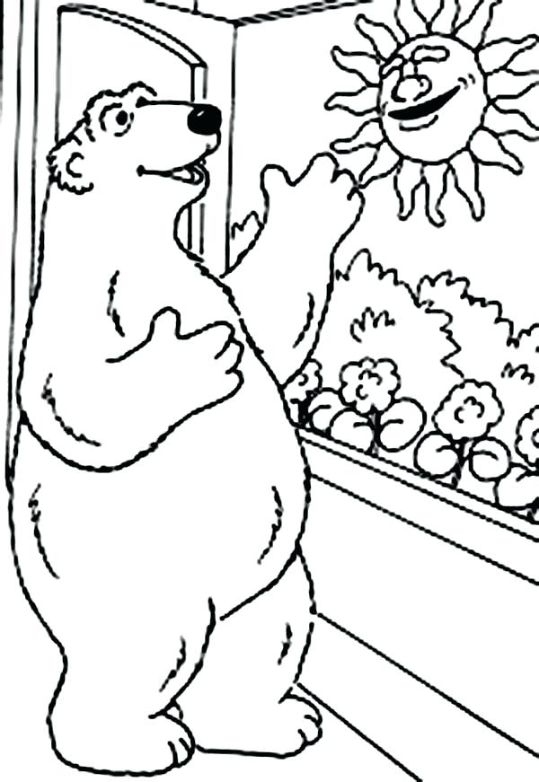 600x871 Bear In The Big Blue House Coloring Pages Grandmaman Site
