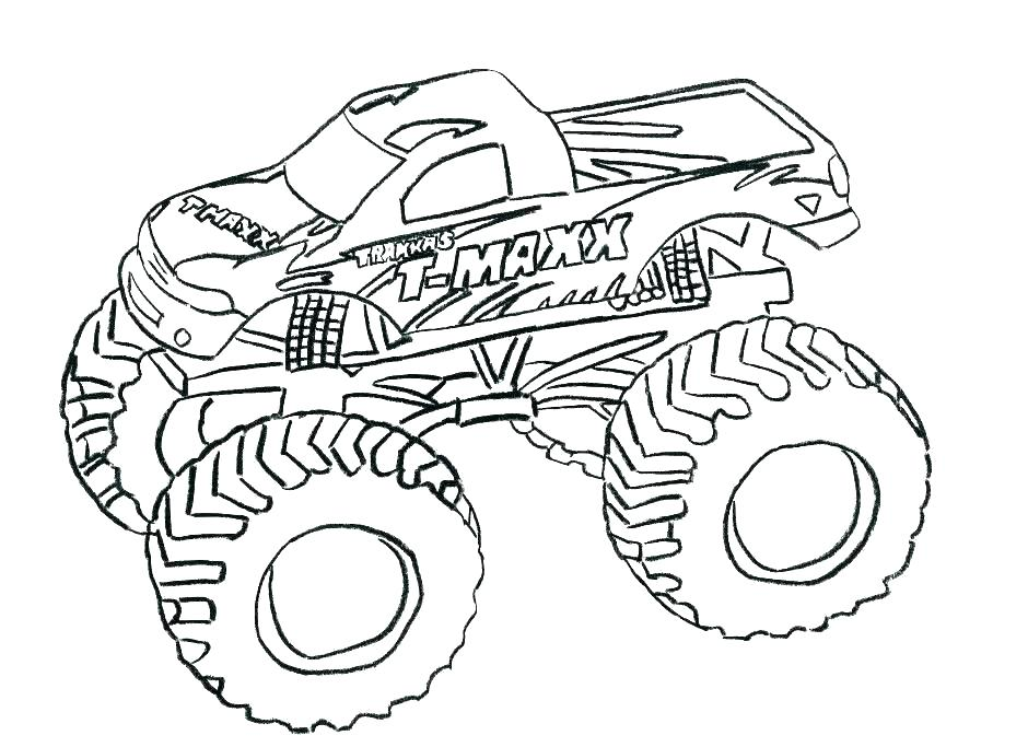 940x683 Coloring Pages Big Rig Coloring Pages Motorcycle Coloring Sheets