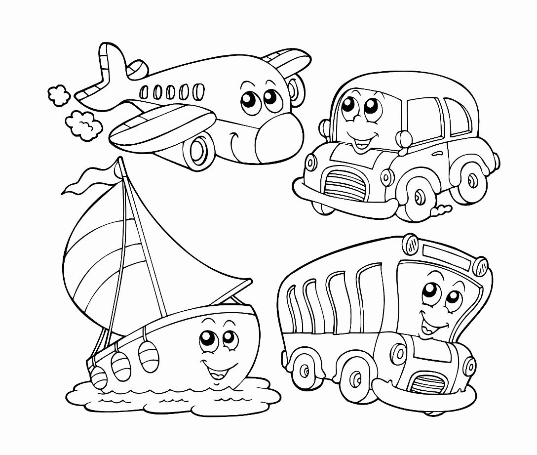 1088x921 Transportation Coloring Pages Gallery Army Truck Coloring Pages