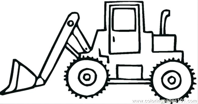 650x341 Big Rig Coloring Pages