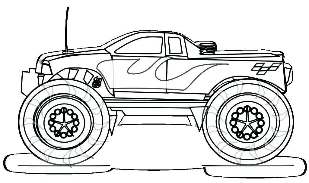 1024x608 Big Rig Coloring Pages
