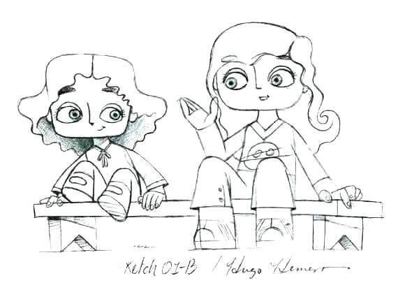 570x428 Big Sister Coloring Pages