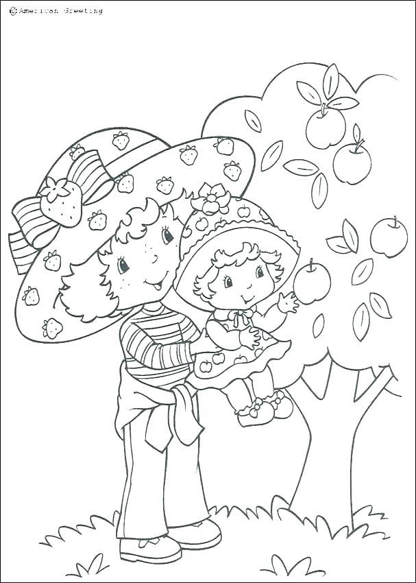 607x850 Big Sister Coloring Pages Printable Ruby Gloom Little Mermaid