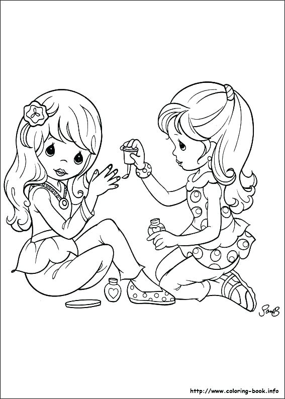 567x794 Big Sister Coloring Pages Sister Coloring Pages Photograph Big
