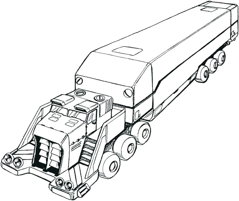 800x673 Bigfoot Coloring Pages Big Trucks Coloring Pages Big Truck