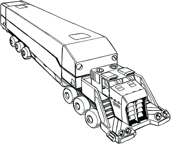 600x505 Charming Big Rig Coloring Pages Semi Coloring Pages Awesome