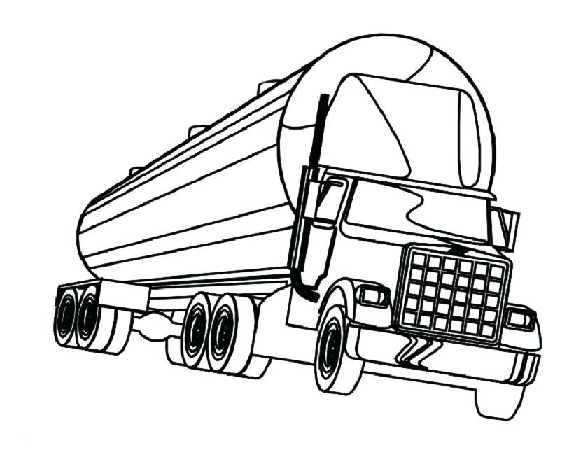 840x650 Semi Truck Coloring Pages Beautiful Coloring Truck Big Timber Rig