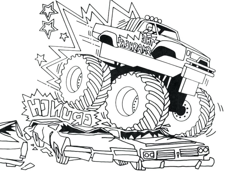 921x678 Bigfoot Coloring Pages Wonderful Ideas Monster Jam Printable