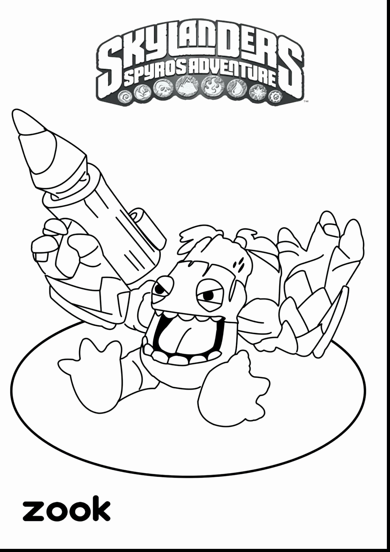 1244x1760 Perspective Bigfoot Coloring Page