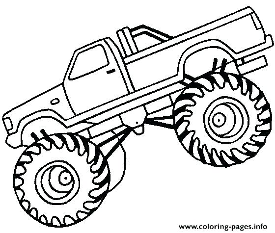 560x475 Bigfoot Coloring Pages