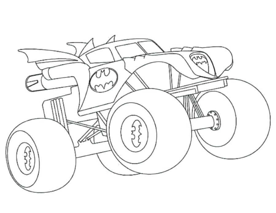 900x694 Bigfoot Monster Truck Coloring Pages Scary Monster Coloring Pages