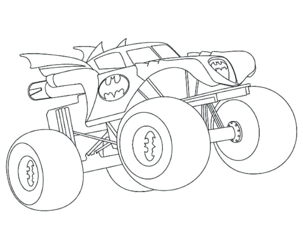 970x748 Monster Truck Coloring Pages Com Bigfoot