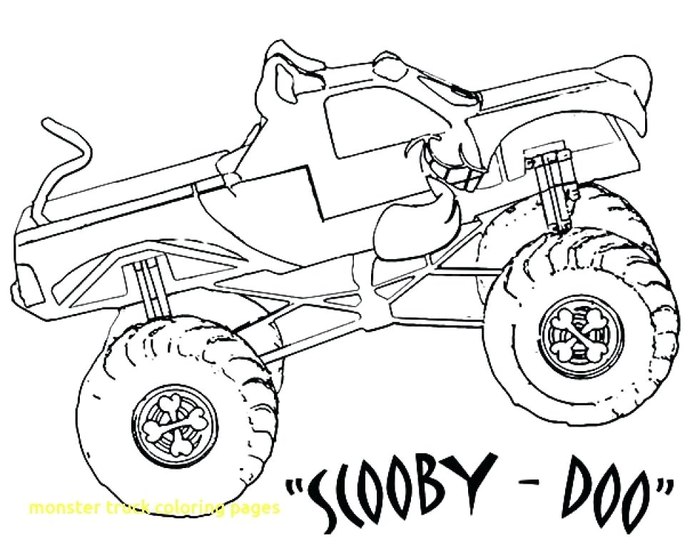 960x768 Bigfoot Coloring Pages Monster Truck Coloring Pages With Get This