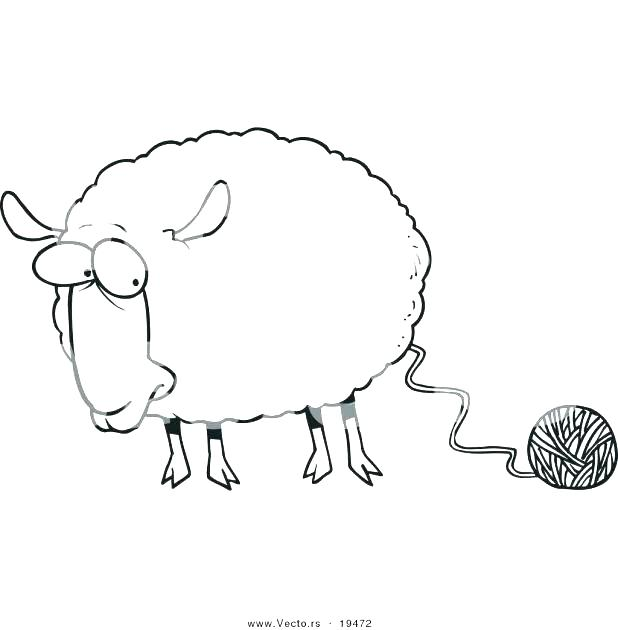 618x630 Coloring Pages Sheep Coloring Page Sheep Sheep Color Page Coloring