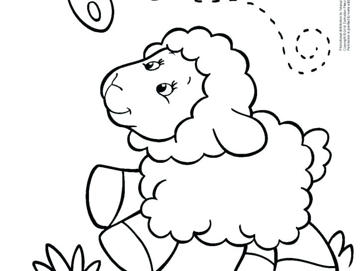 728x546 Moses In The Desert Coloring Pages Free Printable Lamb Cute