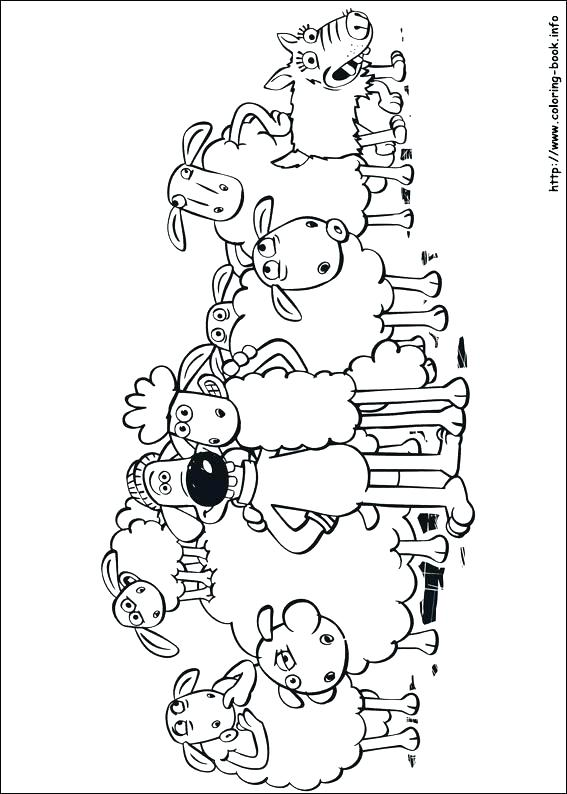 567x794 Sheep Color Page Sheep Coloring Pages Parable Of The Lost Sheep