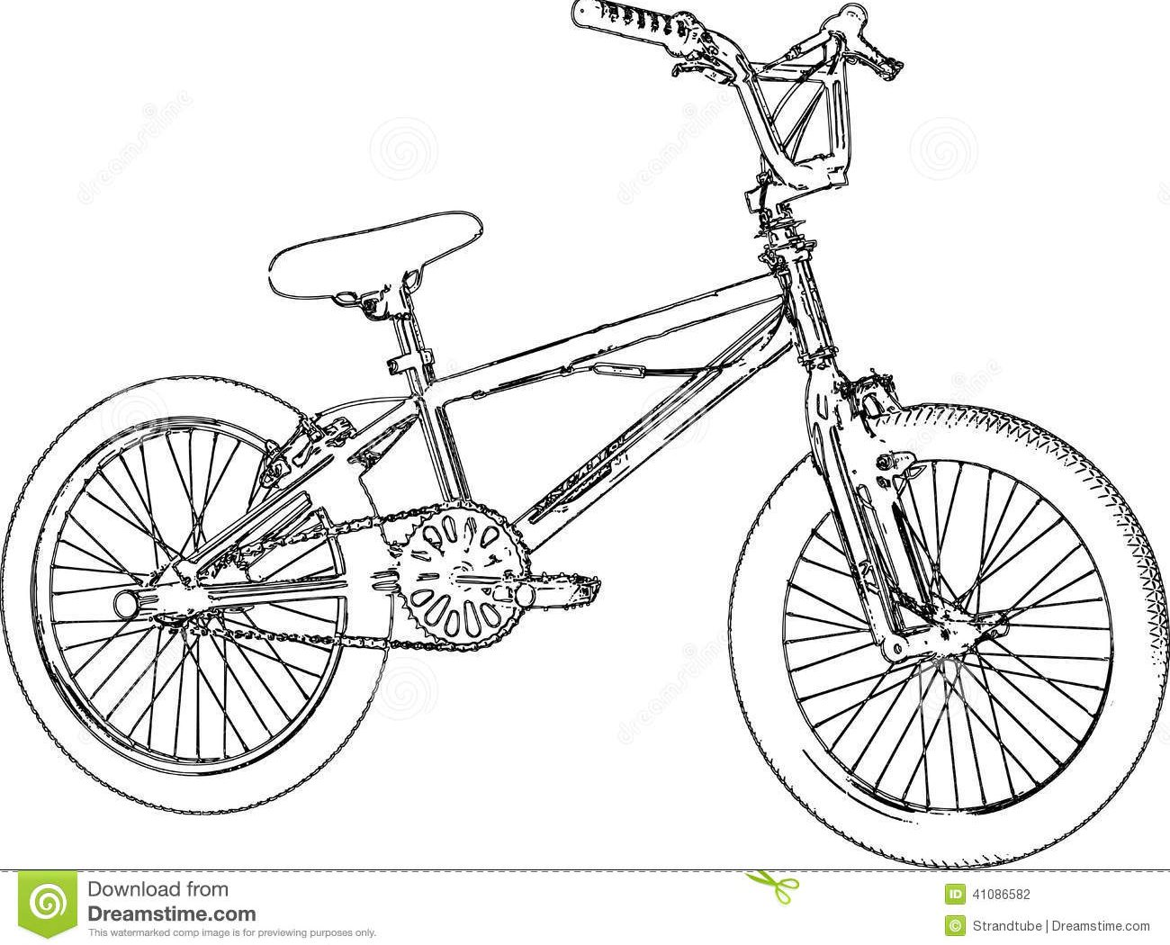 1300x1050 And Bmx Bike Coloring Pages