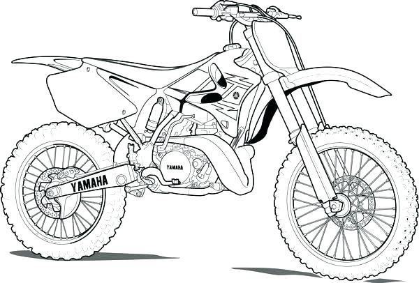600x406 Bicycle Coloring Pages Dirt Bike Coloring Page Bike Coloring Pages