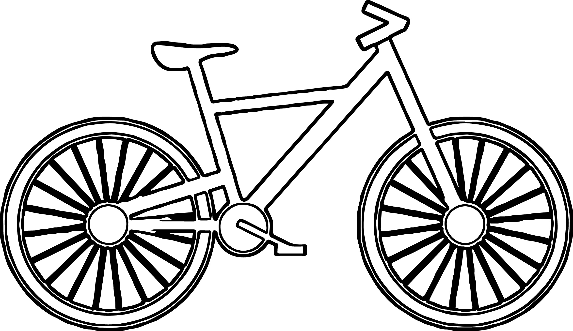 2328x1346 Bicycles Coloring Page Bicycle Pages Safety Free In Qqa Me