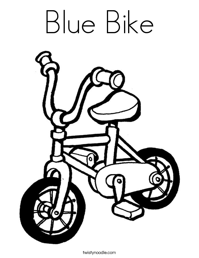 685x886 Bike Coloring Pages