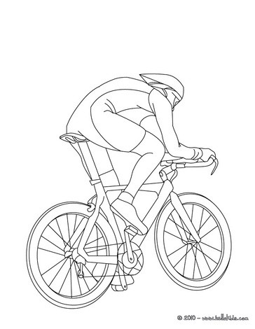 364x470 Bike Coloring Pages