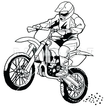 Bike Coloring Pages at GetDrawings.com | Free for personal ...