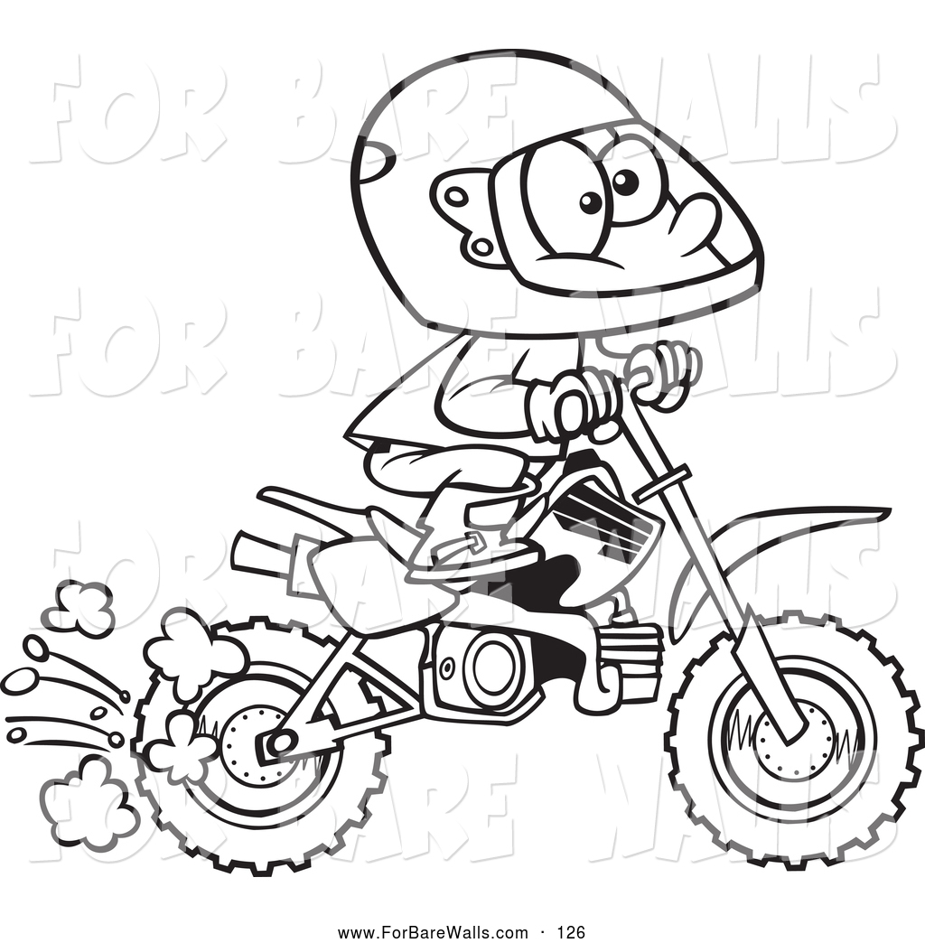 1024x1044 Honda Dirt Bike Coloring Pages From Coloring Pages Dirt Bike