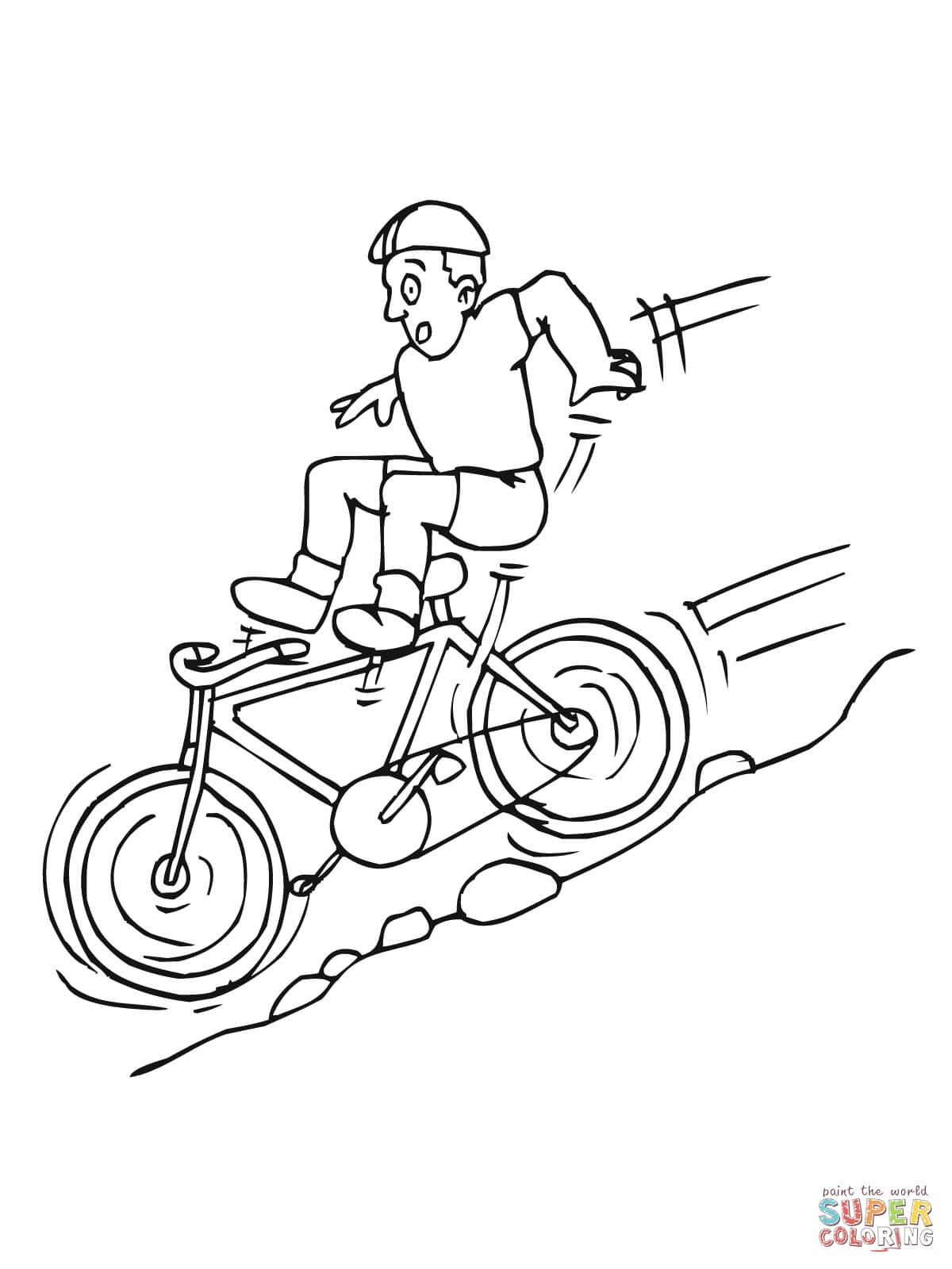 1200x1600 Beautiful A Bicycle Coloring Book Vehicle Coloring Page