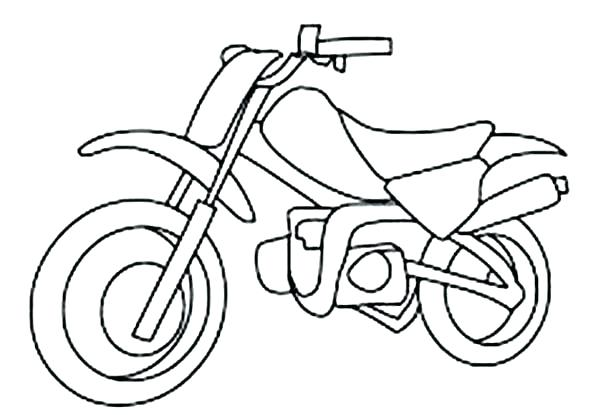 600x415 Bicycle Coloring Page Bicycle Coloring Page Pics Dirt Bike Color