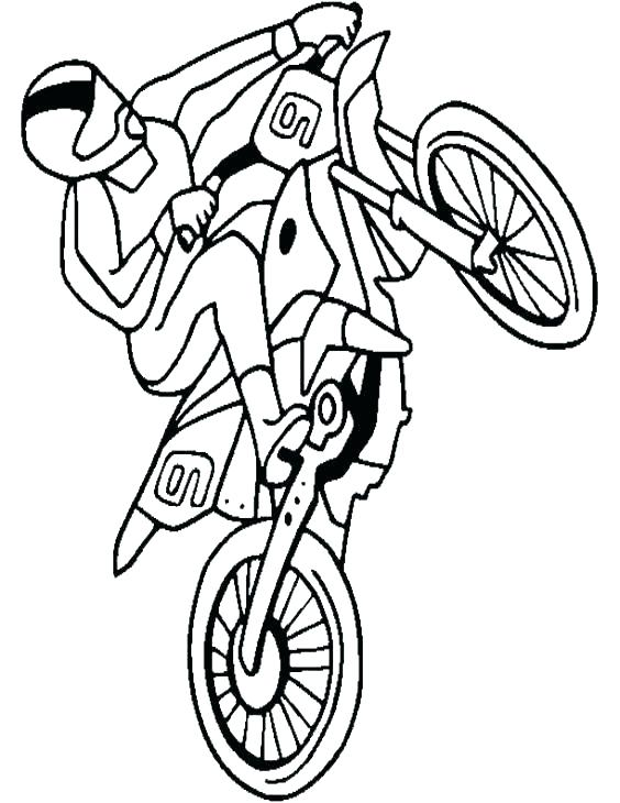 564x730 Bicycle Coloring Page Dirt Bike Coloring Pages Dirt Bike Coloring