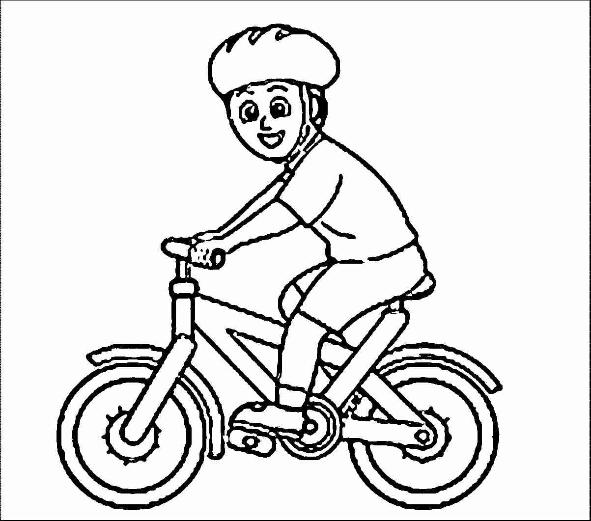 1203x1061 Bike Coloring Pages Printable Image Remarkable Bicycle Page