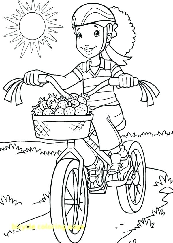 600x840 Bike Safety Coloring Pages Bicycle Coloring Pages Bicycle Coloring