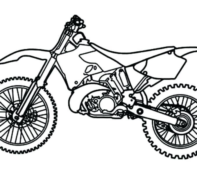 678x600 Dirt Bike Coloring Pages Printable Printable Dirt Bike Coloring