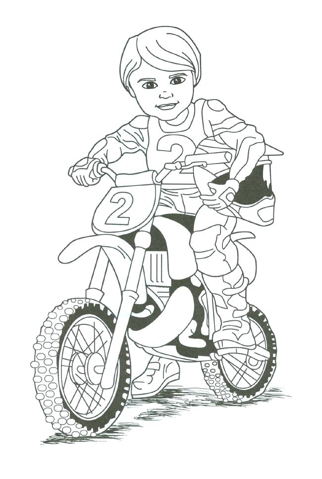 650x967 Dirtbike Coloring Pages Dirt Bike Coloring Coloring Pages Bike