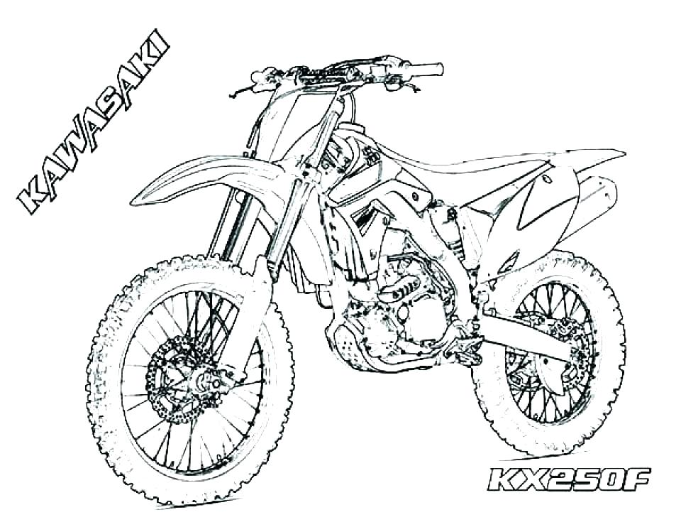 960x742 Motorcycle Coloring Pages To Print Racing Coloring Pages Dirt Bike