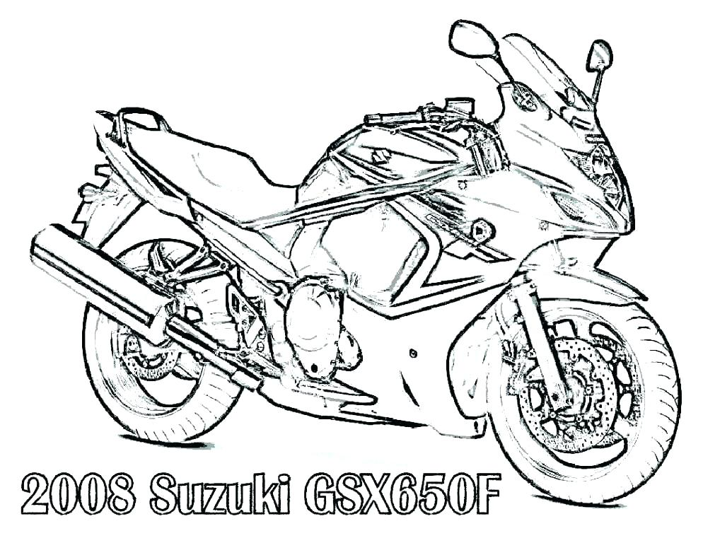 994x768 Old Bike Coloring Page Free Bikes Coloring Pages Old Bike Coloring