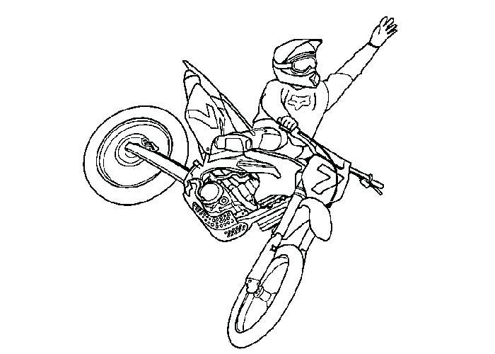 700x500 Dirt Bike Coloring Page Dirt Bike Helmet Coloring Page Ktm Dirt