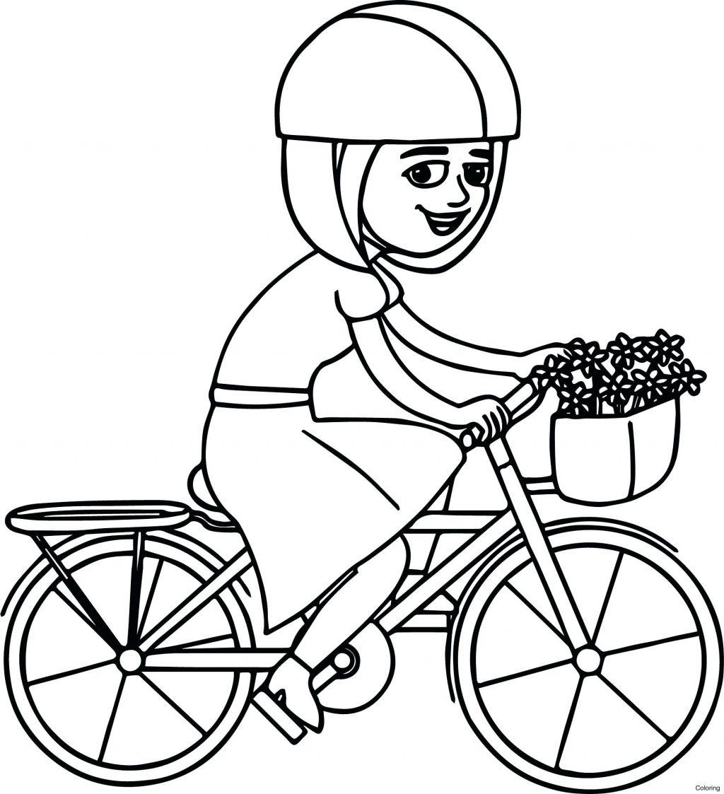 1024x1123 Bike Helmet Coloring Page