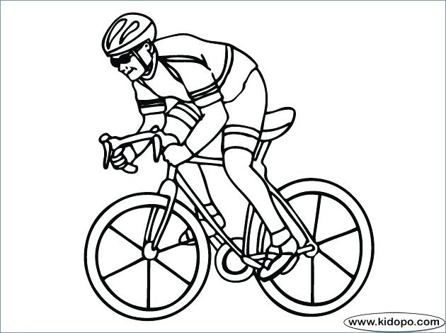 630x470 Coloring Pages Online Hard Hello Kitty Bicycle Riding Page Free