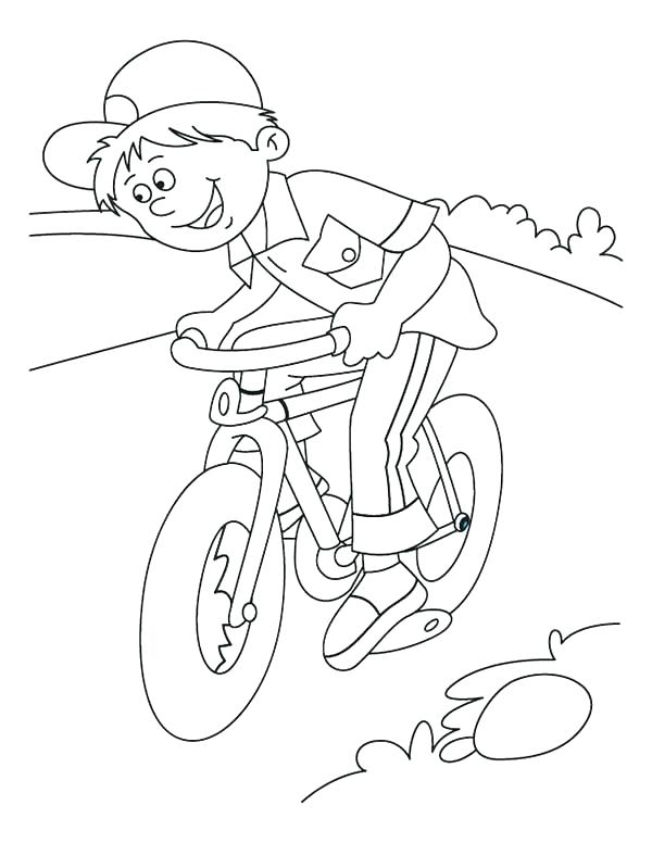 600x776 Bicycle Coloring Pages Bicycle Coloring Book In Addition