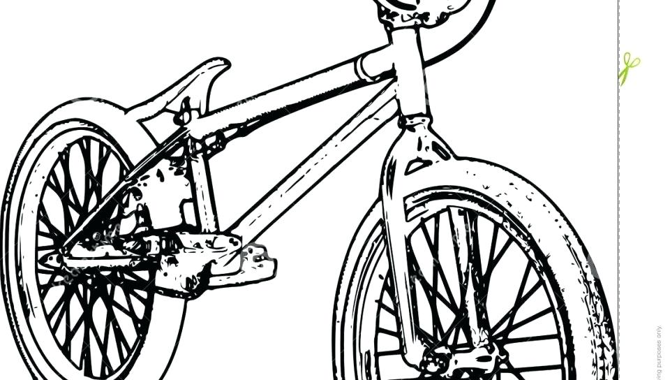 960x544 Bicycle Coloring Pages Bike Coloring Page For Toddler Pages Free