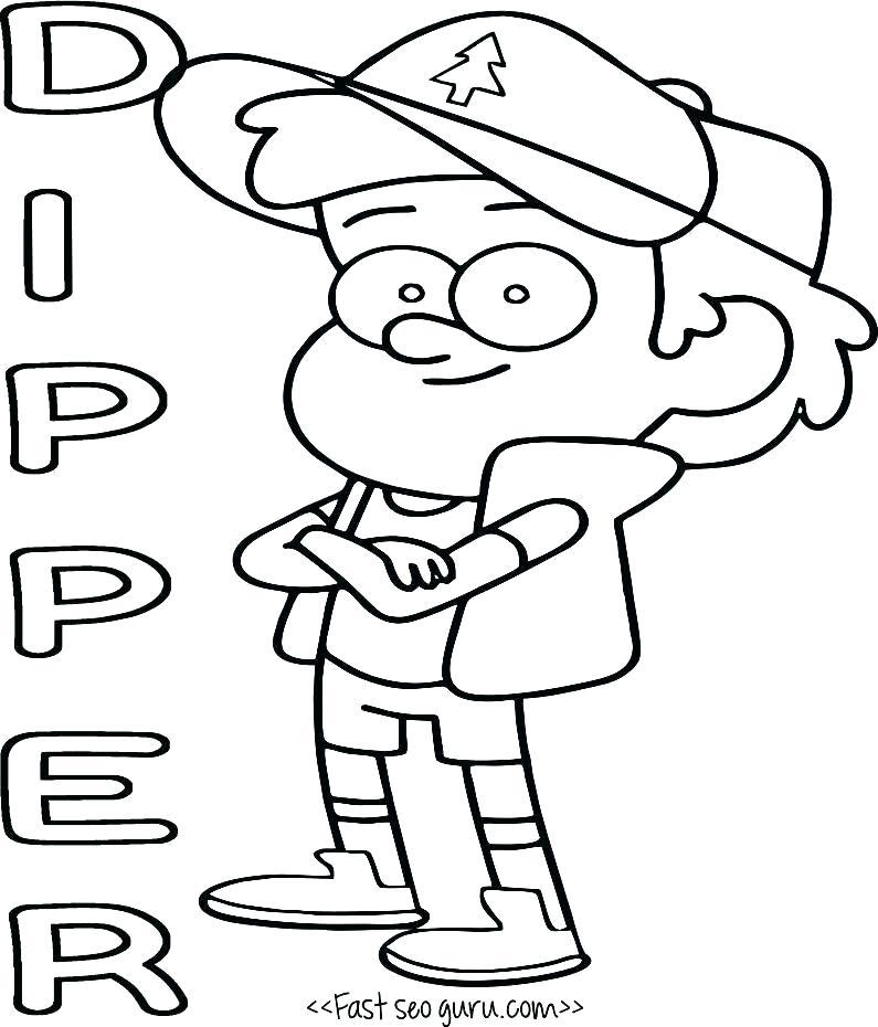 795x930 Crash Bandicoot Coloring Pages Crash Coloring Pages Gravity Falls