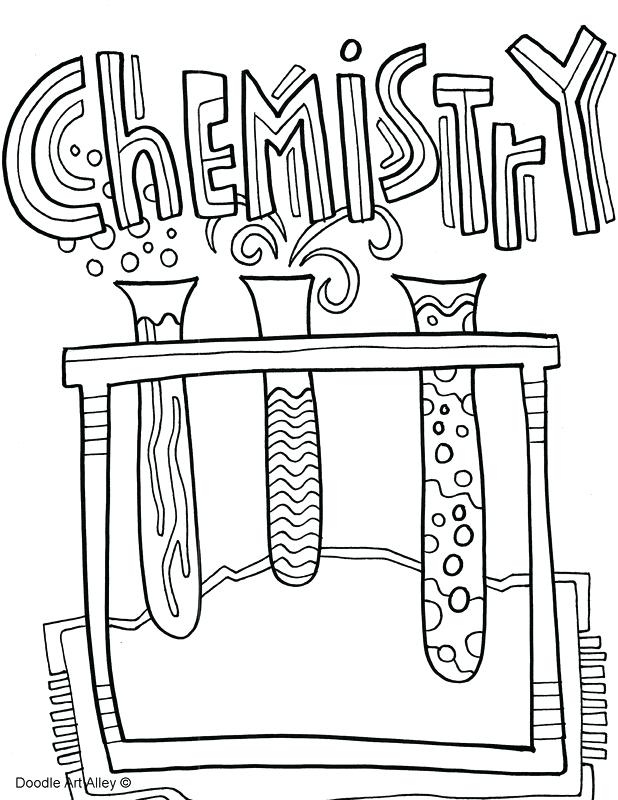 618x800 Magnificent Astonishing Chemistry Coloring Pages Print Science