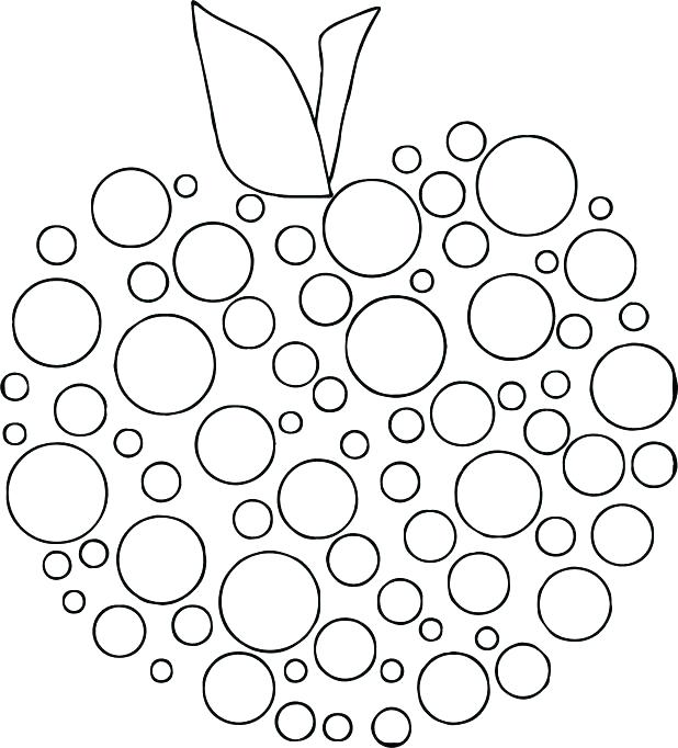 618x682 Good Free Dot Marker Coloring Pages Or Dot Art Coloring Pages