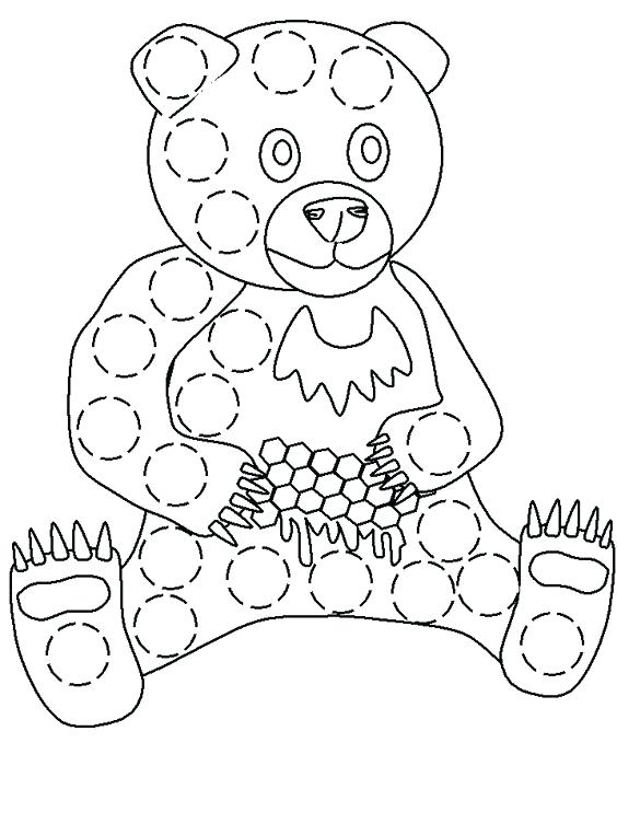 564x753 Lovely Bingo Dauber Coloring Pages And Dot Coloring Pages Dot