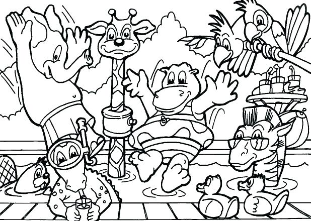 618x440 Human Biology Coloring Pages Marine Coloring Pages Marine Coloring