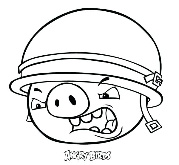600x552 Coloring Page Of A Bird Angry Birds Coloring Pages Bird Pigs