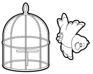 300x239 Animal's House Coloring Page Crafts And Worksheets For Preschool