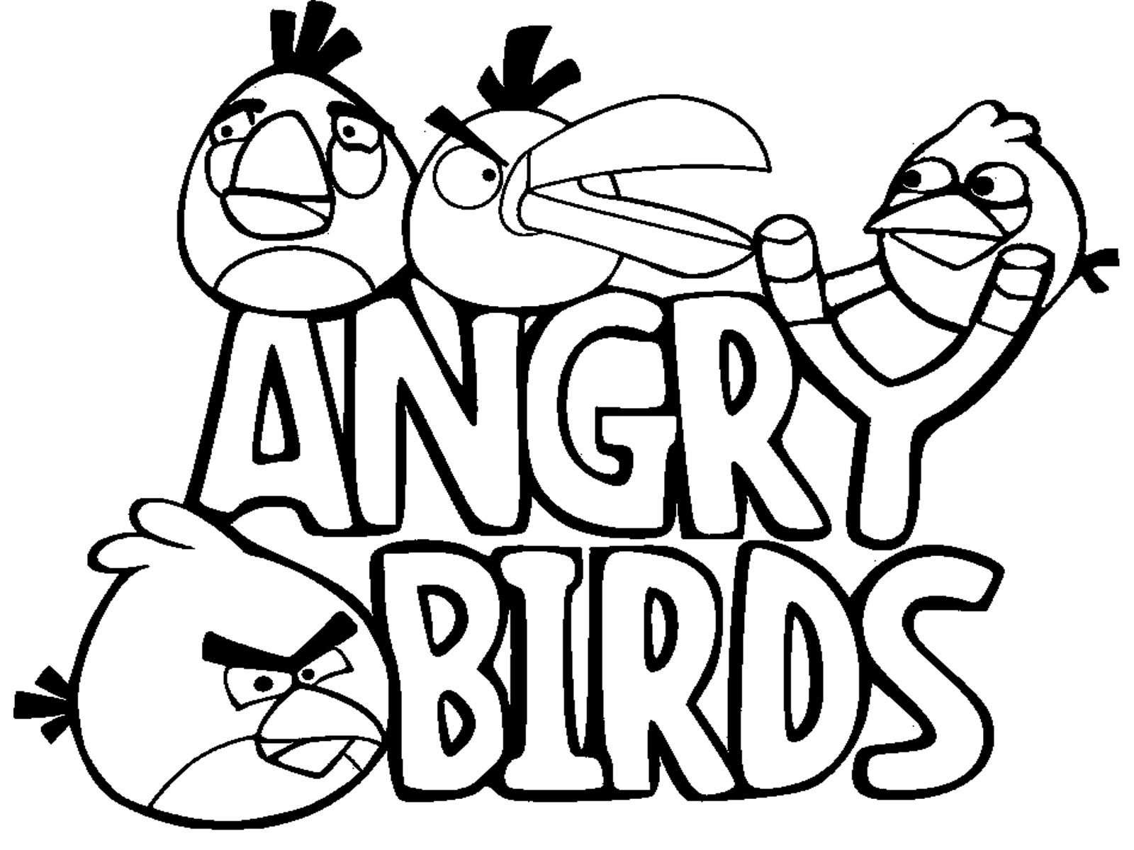 1600x1200 Cartoons Coloring Pages